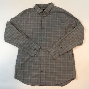 Banana Republic Tailored Slim Fit Size XL Plaid